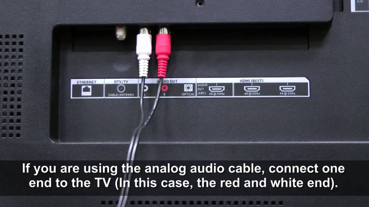 setting up vizio soundbar