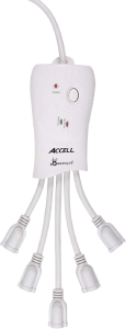 Accell Powersquid Flexible Surge Protector