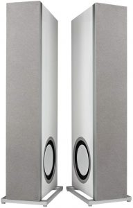 Definitive Technology D17 Demand Series Modern High-Performance 3-Way Tower Speaker Side View Close Up