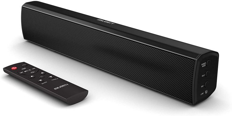 Majority Bowfell Small Sound Bar with Remote