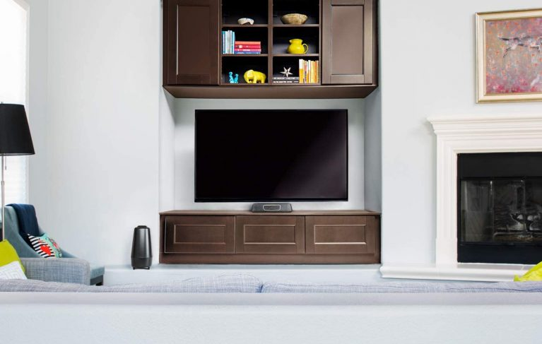 Polk Audio MagniFi Mini Home Theater Surround Sound Bar In a Room
