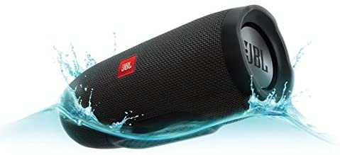 JBL Charge 3 splashed in water graphics