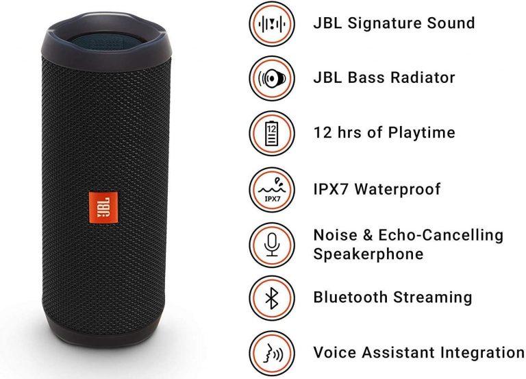 JBL Flip 4 features
