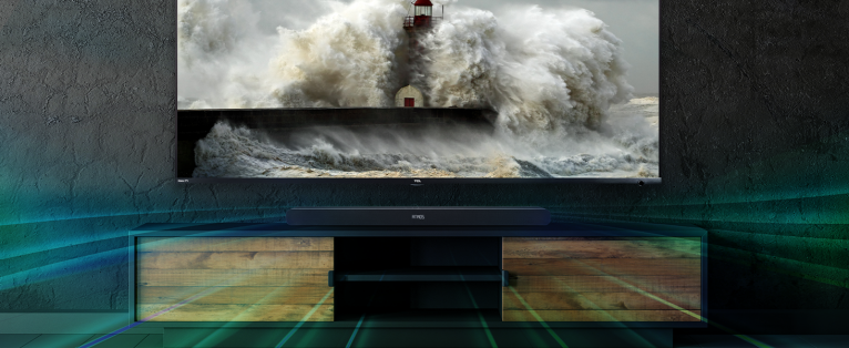 TCL Alto 8i Dolby Atmos sound
