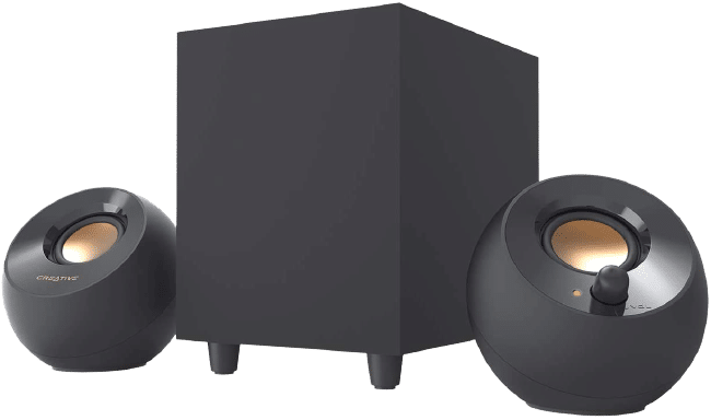 Creative Pebble Plus 2.1 USB-Powered Desktop Speakers