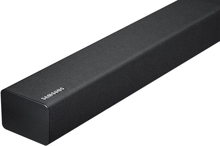 Up close shot of Samsung Electronics HW-K360 soundbar