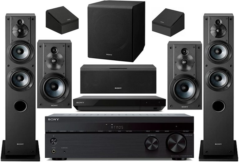 Sony 7.2 Channel Wireless Bluetooth Surround Sound Home Theater System