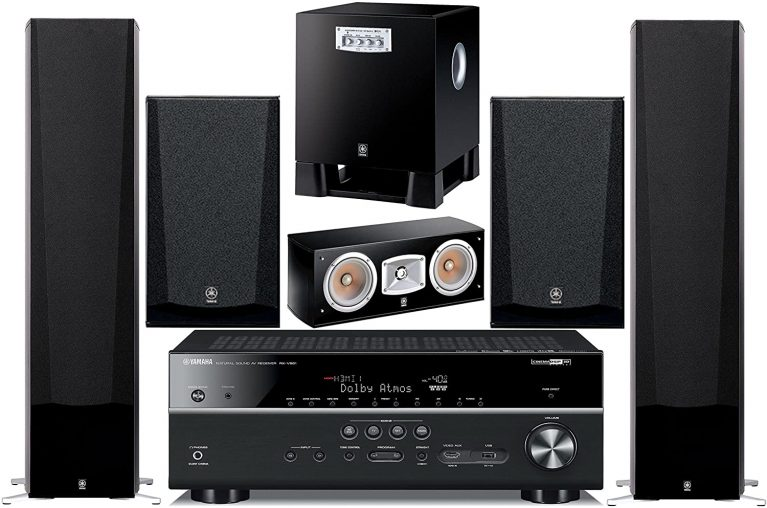 Yamaha 7.2-Channel Wireless Surround Sound Home Theater System
