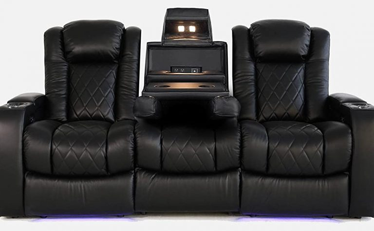 Valencia Tuscany Home Theater Seating front view