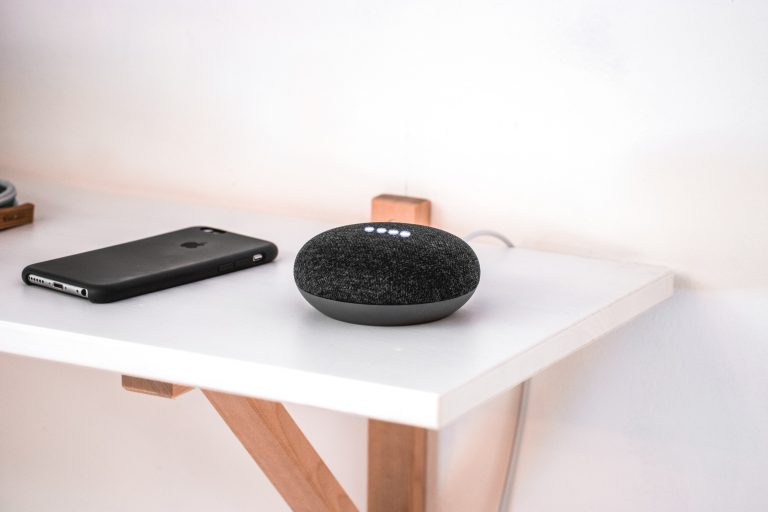 speaker and phone