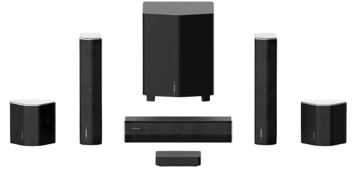 Enclave CineHome II 5.1 Wireless Home Theater Surround Sound System