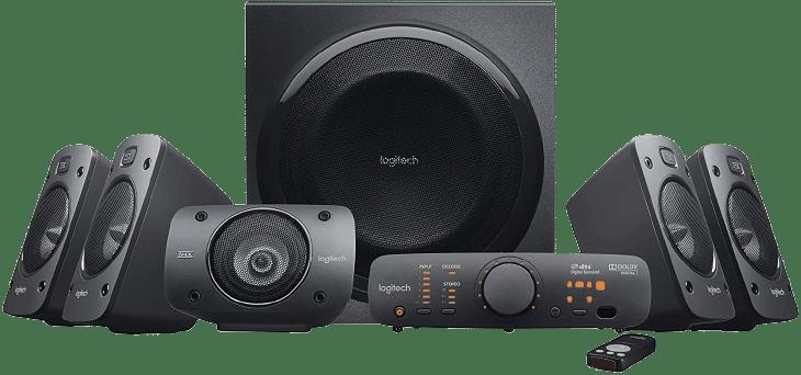 Logitech Z906 5.1 Surround Sound Speaker System - remove bg