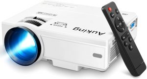 AuKing Mini Projector 2021