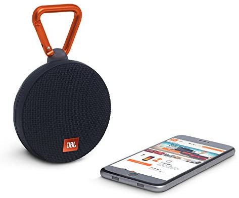 JBL Clip 2 and mobile phone
