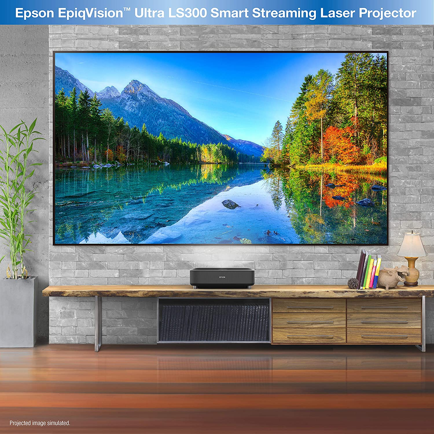 Epson EpiqVision Ultra LS300 picture quality projection