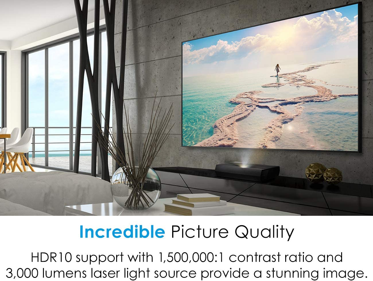 Optoma CinemaX P2 picture quality
