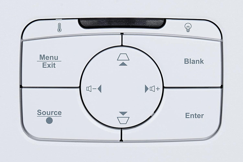 ViewSonic PS501X control panel