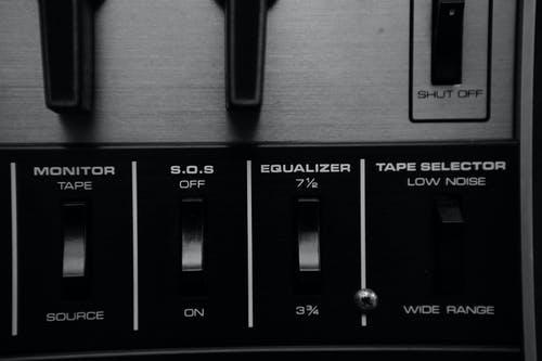 equalizer knobs