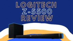 logitech z-5500 review