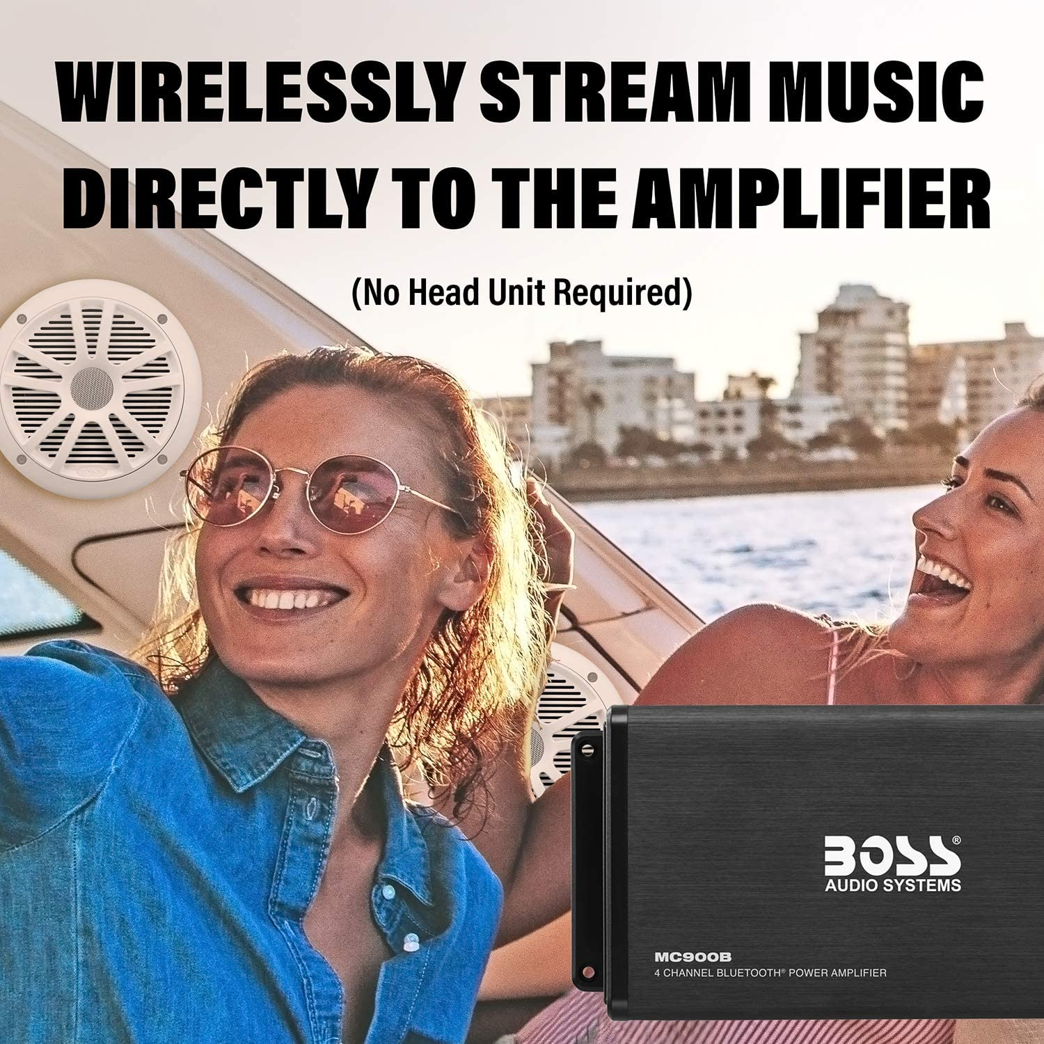 BOSS Audio Systems ASK904B.64 wireless music streaming features