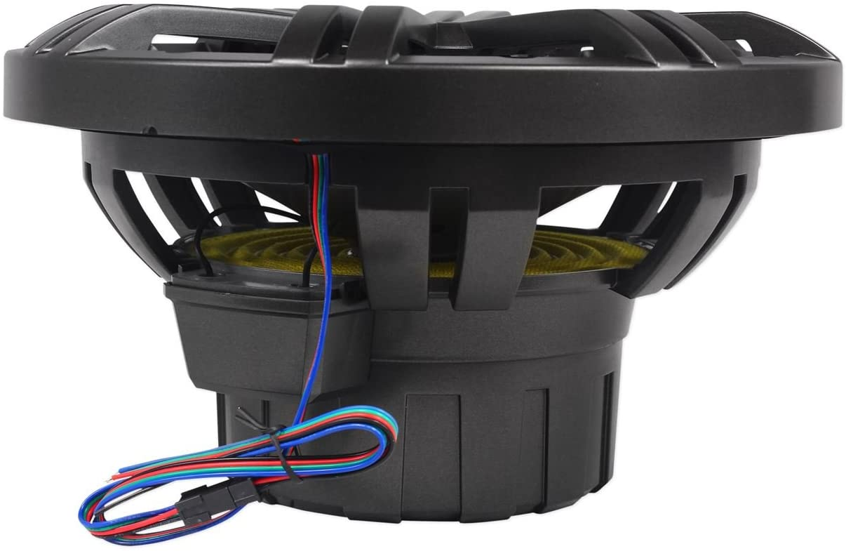 Kicker KM 10-Inch Marine Subwoofer terminal cables