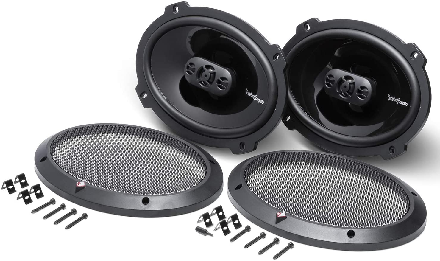 Rockford Fosgate P1694 without the metal grille