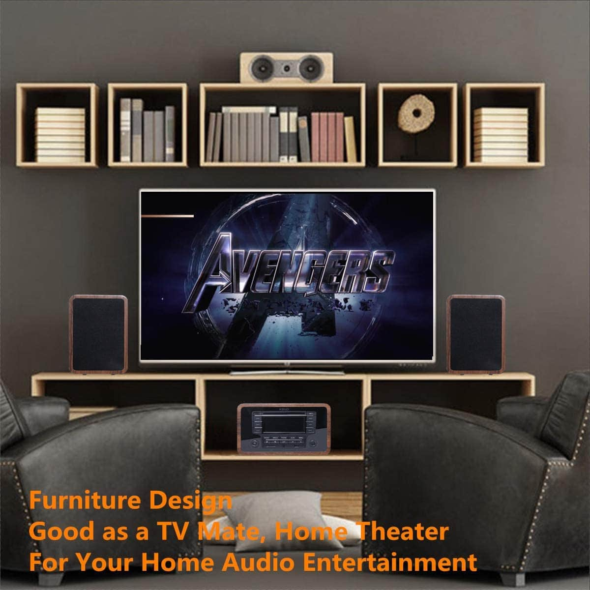 KEiiD Stereo in home theater setup