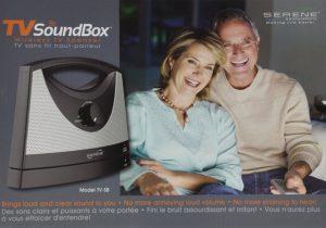 Serene Innovations Wireless TV Listening Speaker
