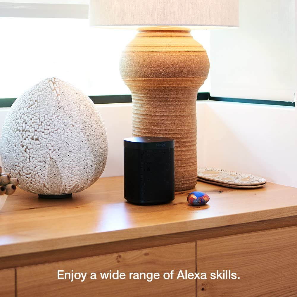Sonos One Portable Speaker with Alexa voice control built-in