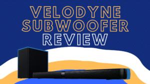 velodyne subwoofer review