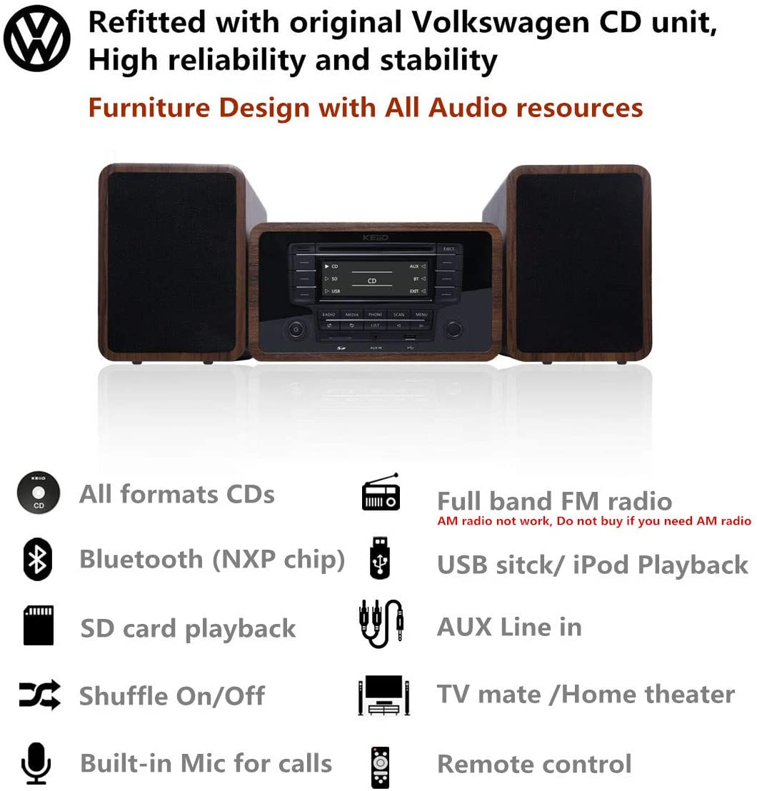 device compatibility of KEiiD Bluetooth Stereo System