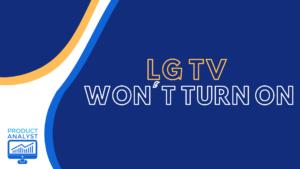 lg tv won't turn on