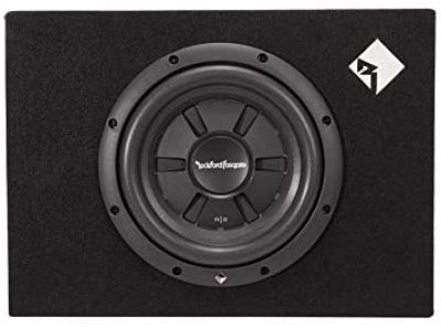 Front view of Rockford Fosgate R2S-1X10