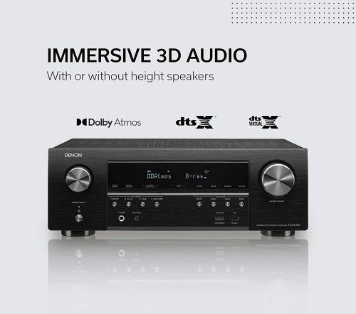Denon AVR-S750H Receiver immersive 3d audio feature