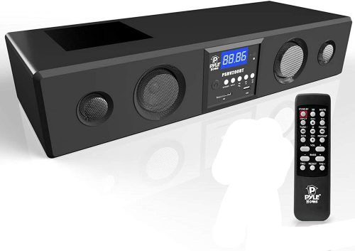 Pyle 3D Surround Bluetooth Soundbar with remote