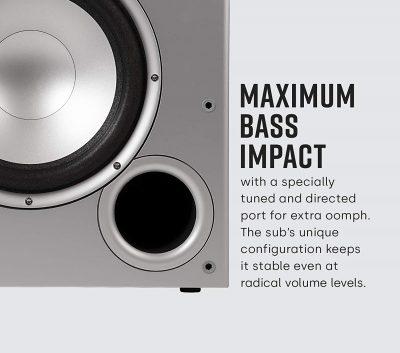 Maximum Bass Impact of Polk Audio PSW10