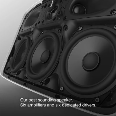Sonos Play 5 amplifiers