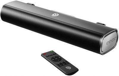 BOMAKER 50W Sound Bar,16-Inch Portable Outdoor 2.0 Soundbar