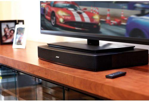 Bose Solo 10 under a TV