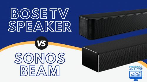 Bose TV Speaker VS Sonos Beam