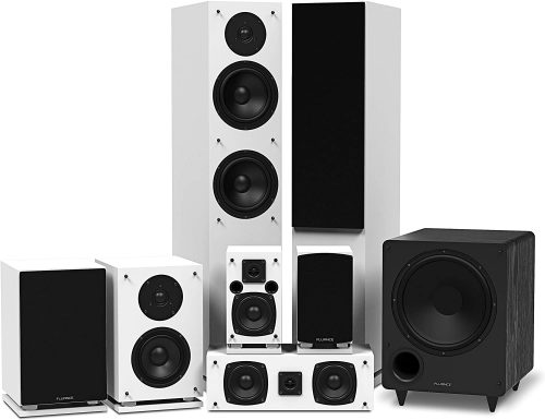 Fluance Elite Series Surround Sound Home Theater 7.1 Channel Speaker System