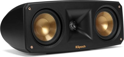 Klipsch Black Reference Theater - close up