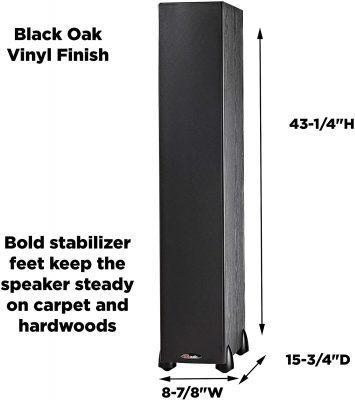 Polk Audio Monitor 70 Series II Tower Speaker - Design and Build