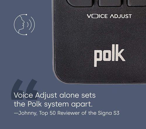 Polk Audio Signa S3 Voice Adjust