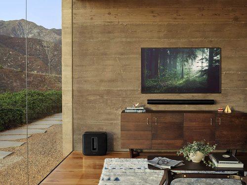 Sonos Arc in use below the TV