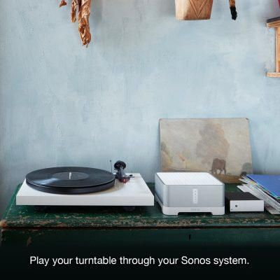 Sonos Connect with turntable