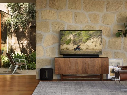 Sonos Sub Gen 3 on the floor room floor