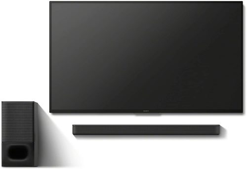 Sony HT-S350 soundbar and subwoofer with TV