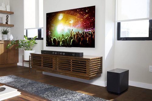 Sony HT-ST5000 being used with TV on