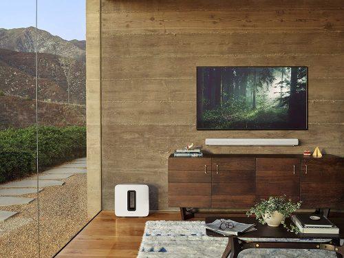 Soundbar and TV